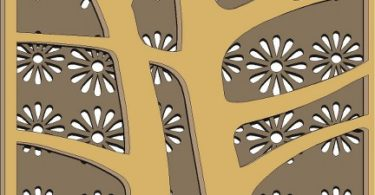 laser cut decorative wood panels