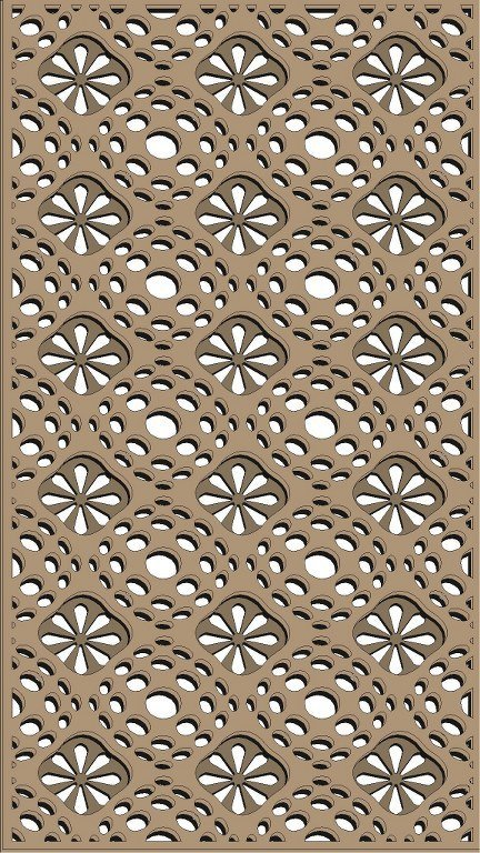 Free Pattern Vector Window Grill Patterns For Laser Cutting