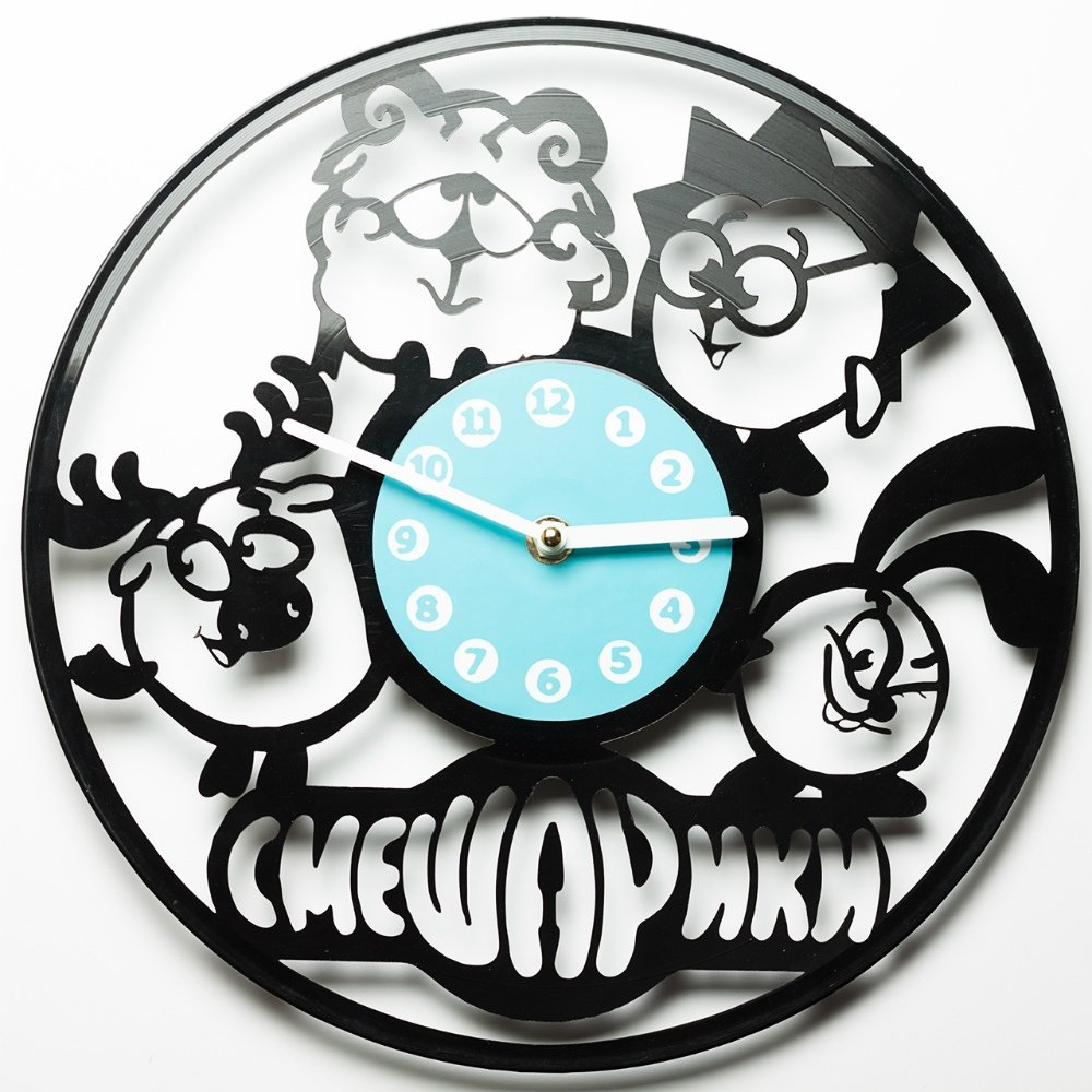 Laser Cut Wall Clock dxf file format