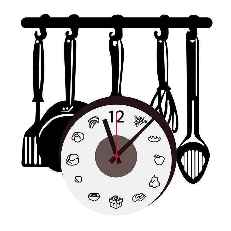 Laser cut Vinyl Clock Vector