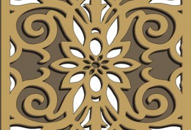 Free Pattern Vector You Can Cut Today on Your CNC . The File includes Best Window Grill Patterns free