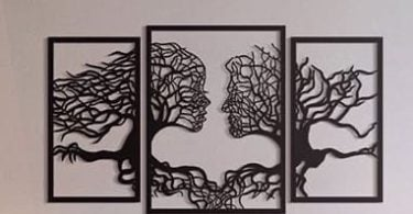 laser cut wall art