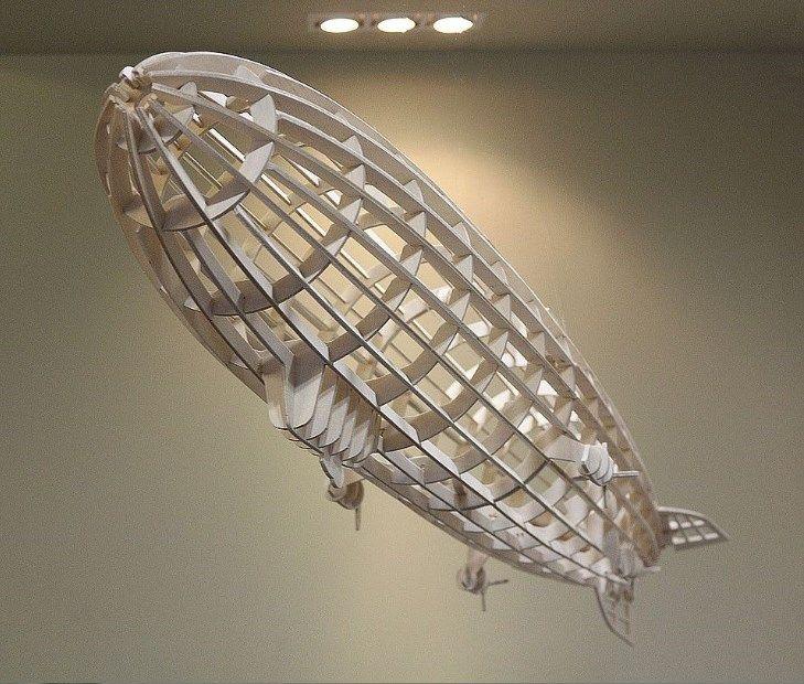 rigid airship laser cut ideas