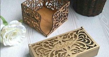 laser cut box patterns
