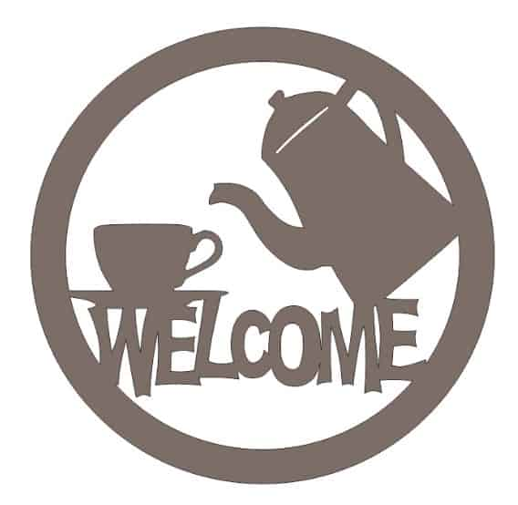 welcome logo vector file free download