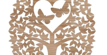 tree of life vector file for laser cut Free download