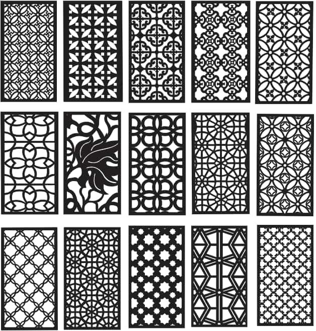 Patterns Dxf