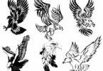 free eagle vectors