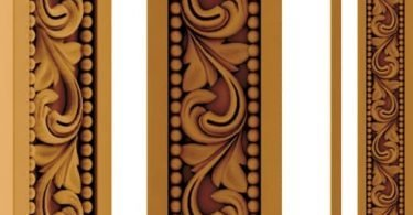 3d wood carving patterns
