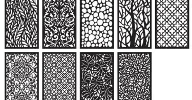 jali design vector free vector patterns