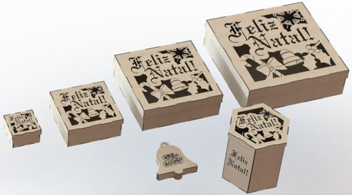 laser cut wood boxes