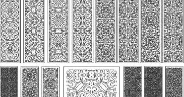 plasma dxf files pattern vector free download