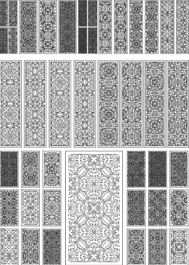 plasma dxf files pattern vector free download