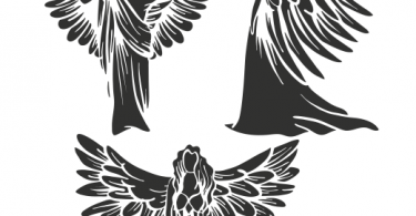 vector seraphim six winged angels vector File download