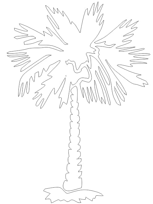free palm tree vector