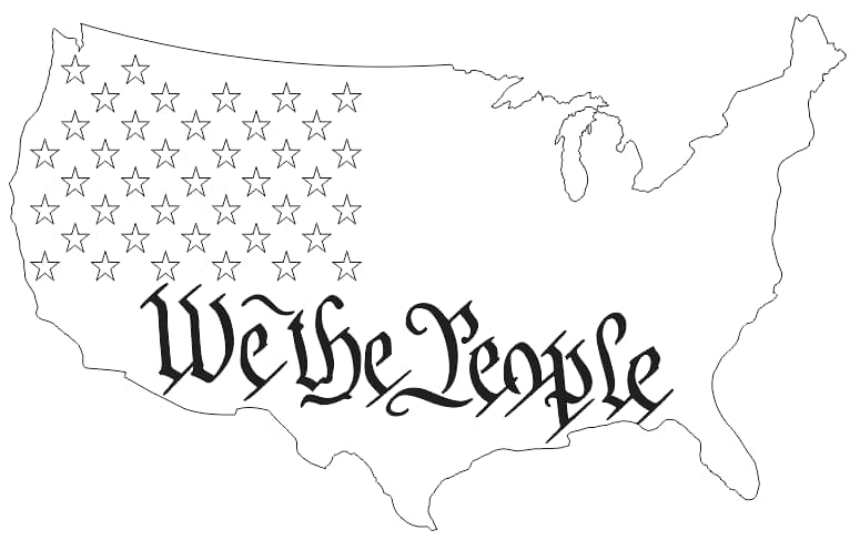 we the people flag