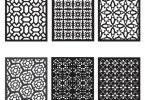 geometric patterns vector