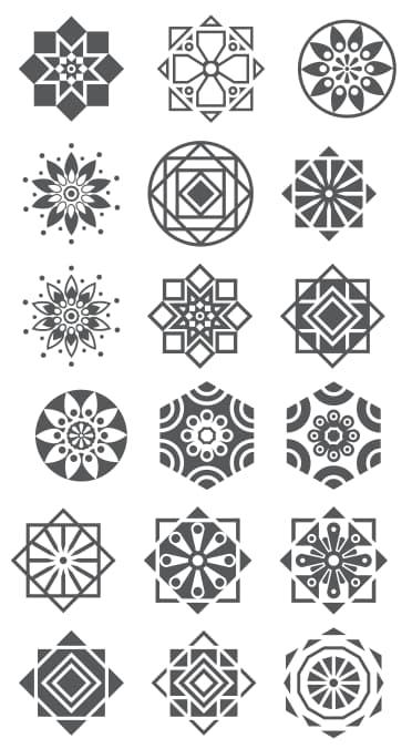 geometric shape designs