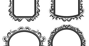 ornate vector frame