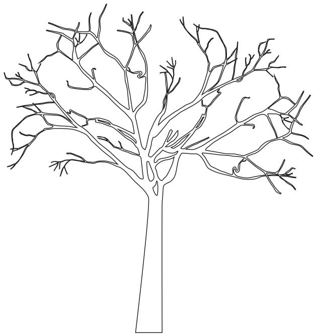 tree dxf