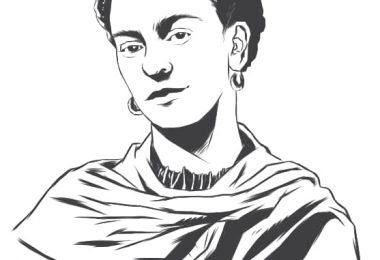 Frida kahlo vector