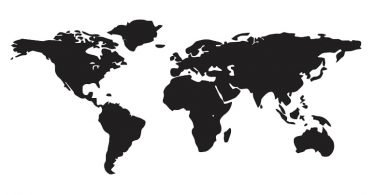 World Map Free Vector