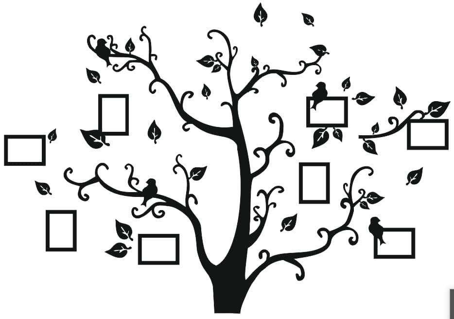 family tree vectors