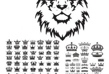 free vector crown