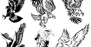 free vector eagle