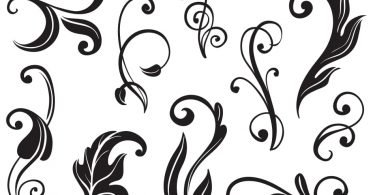 free vector flourishes
