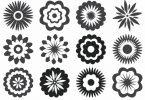free vector flowers