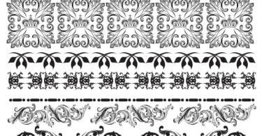 free vector lace pattern