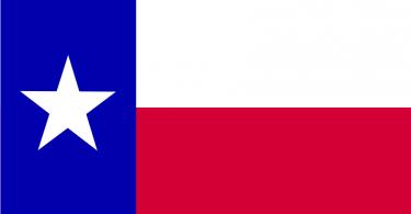 free vector texas flag