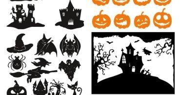 halloween vector free