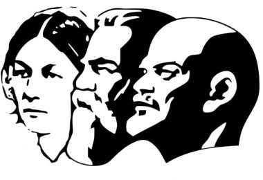 lenin stalin mark profile free vector