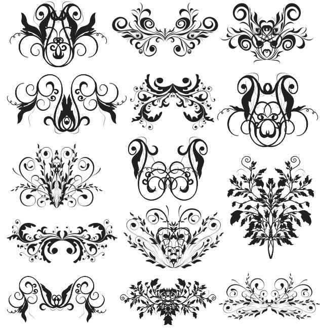 swirl design templates