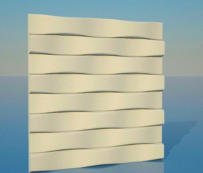 3d wood wall panel