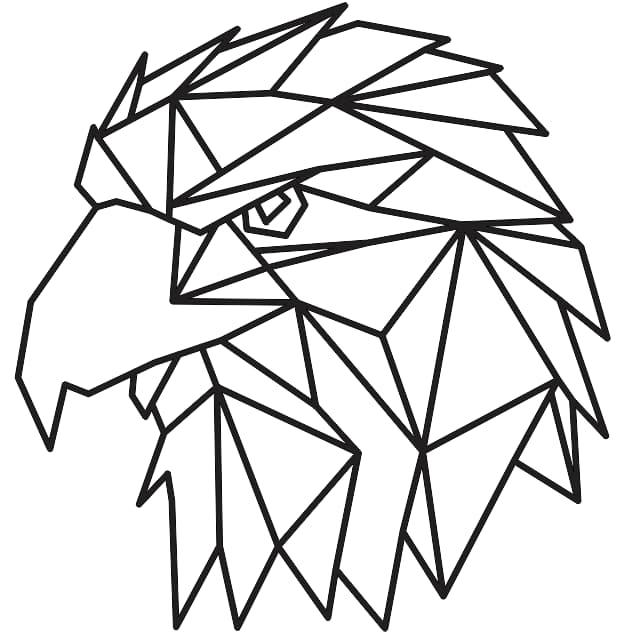 geometric art animals