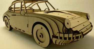 Laser Cut Car