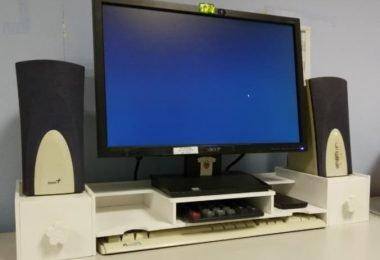 laptop organizer shelf
