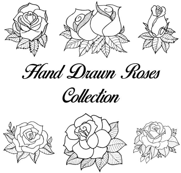 rose DXF file