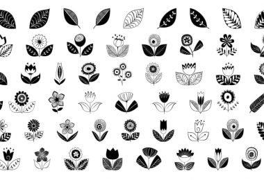 free vector leaf