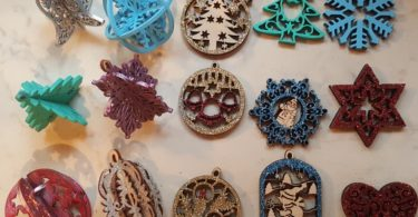 laser cut christmas ornaments patterns