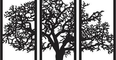 trees of oregon cnc vector