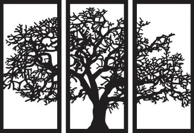 trees of oregon cnc vector