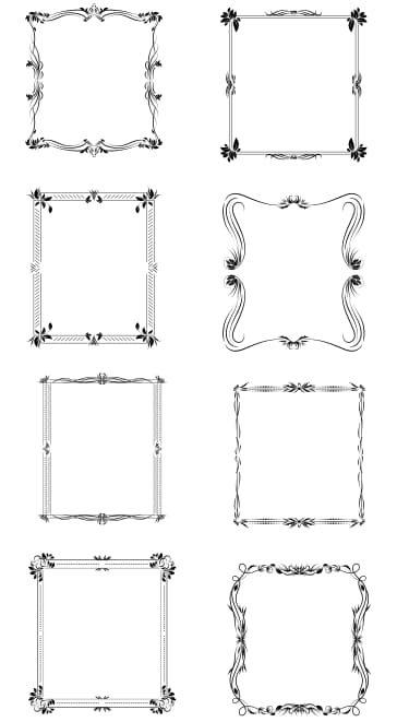 Ornate Frame Vectors