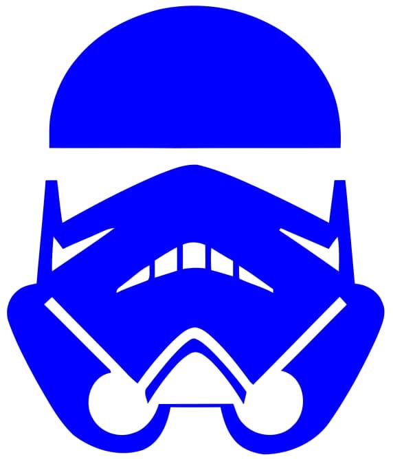 Stormtrooper Star Wars Sticker Free Vector