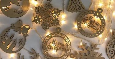 free laser cut christmas ornaments