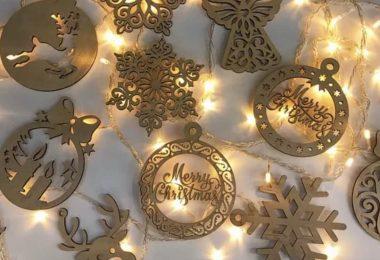 free laser cut christmas ornaments