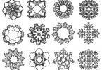 ornament vector cdr